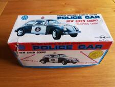 Molto RARO SH HORIKAWA VW BEETLE Auto della polizia di lavoro, buone condizioni, in scatola