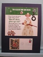 """""""A Christmas Story"""" - """"You'll Shoot Your Eye Out"""" & Santa Claus First Day Cover"""