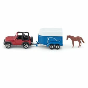 Siku S16 Jeep With Horse Trailer