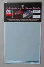HOUNDSTOOTH UPHOLSTERY 1:24 1:25 SCALE MOTORSPORT MODEL ACCESSORY 1970