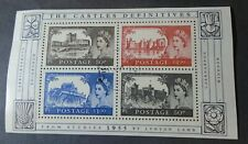 RECENT THE CASTLES SHEET VF USED GB UK GREAT BRITAIN B36.18 START 0.99$
