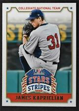 2015 USA Baseball Stars and Stripes #48 James Kaprielian - NM-MT