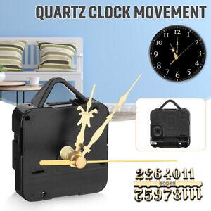 Gold Digital Card Hand Quartz Movement Mechanism Silent Clock Motor DIY   AU