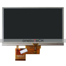 "5.0"" AT050TN34 V.1 LCD DISPLAY TOUCH SCREEN For PSP GPS navigator 5"" Garmin Nuvi"