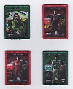 ^2010 Premium IRON ON PATCH Complete 4 card set! BV$25! UNIQUE! Danica, Jr., JG