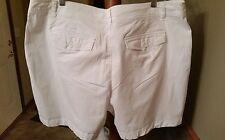 Falls Creek 24W White Shorts EUC