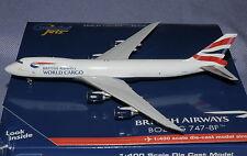 GEMINI JETS 1/400 Boeing B747-8 F BRITISH WORLD CARGO