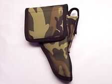 "RIGHT Hand CAMO / Camouflage Flap Holster RUGER MARK III w/ 5-1/2"" barrel ..USA"