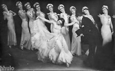 BD683 Carte Photo vintage card RPPC Femme woman ballet danse costume robe