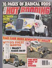 Popular Hot Rodding Magazine Radical Rods Pro Stocks July 1978