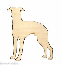 Italian Greyhound Dog Unfinished Wood Shape Cut Out Ig5517 Lindahl Woodcrafts