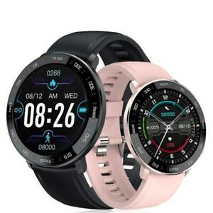 Bluetooth Sports Heart Rate BP IP67 Fitness Tracker Smart Watch Android IOS ZL03