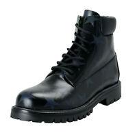 Valentino Garavani Women's Black Star Print Leather Ankle Boots Shoes Sz 9 10.5