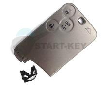 Renault Espace 4 Laguna 2 VelSatis Schlüssel Karte 3 Tasten button Key Card cle