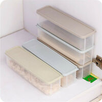MultiFunction Jar Spaghetti Storage Noodles Pasta Dry Food Container With Lid