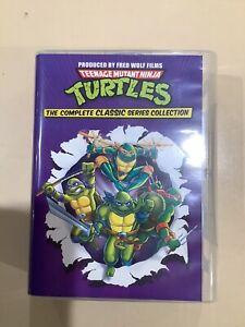 Teenage Mutant Ninja Turtles TMNT Complete Classic Series DVD Collection
