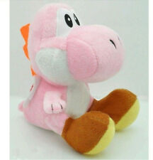 "Nintendo Super Mario Brothers Bros Yoshi 7"" Stuffed Toy Kids Plush Doll Pink"