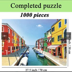 1000 Pieces Jigsaw Puzzles 'colourful Venice'