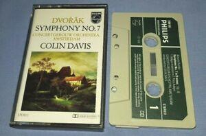 DVORAK SYMPHONY No.7COLIN DAVIS classical music cassette C0065