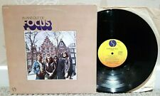 FOCUS - In And Out Of... Vinyl LP - 1973 US Sire Records SAS 7404 - A1/B1