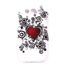 Soft Case For Samsung Galaxy S3 - Flower 5