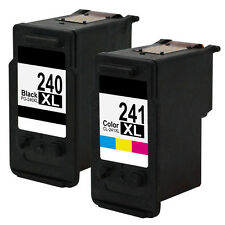 2PK PG-240 CL-241 XL Ink Cartridge for Canon MG2120 MG3120 MG3122 MG3220 MG3520