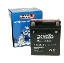 WK125 SP125 SP 125 SP125N 13-16 YTX7LBS SEALED BATTERY