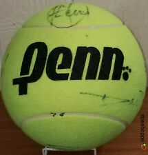 Penn US OPEN Large Jumbo Tennis Ball Signed By Many Players 9""