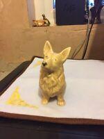 Sylvac - Pembroke Corgie Dog - Missing Some Paint On The Nose