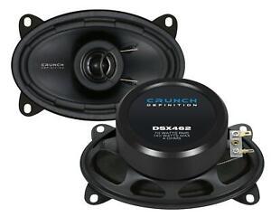 Crunch DSX462 10x15cm 4x6 Zoll 2-Wege-Lautsprecher 140 Watt RMS: 70 Watt