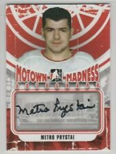 In The Game Motown Madness Metro Prystai (Deceased) Autograph Detroit Red Wings