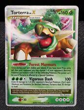 Torterra LV.X DP09 Holo Rare Pokemon Card MP