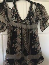 v-neck blouse tops shirts