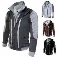 Jacket Warm Hoodie Men's Coat Sweater Hooded Sweatshirt Outwear Winter Tops