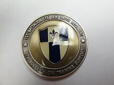 CHALLENGE COIN 1ST BATTALION 345TH REGIMENT 87TH DIVISION TRAINING SUPPORT