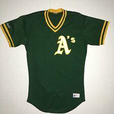 8c5c8e8c9 Oakland Athletics Rawlings Vintage 1980s Sewn Stitched Warm Up Jersey -  Men s 36