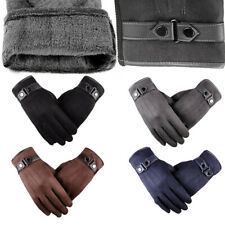 Mens Winter Gloves Warm Windproof Waterproof Thermal Touch Screen Gloves Mittens
