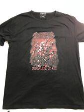 Kreator Pleasure To Kill Shirt Double Sided Large