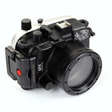 40M 130FT Waterproof Housing Diving case cover fr Canon PowerShot G7X Camera
