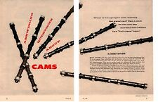 1960 ANSWERING QUESTIONS ABOUT CAMS ~ ORIGINAL 7-PAGE ARTICLE / AD