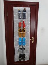 Over The Door Shoe Organizer Rack Hanging Storage Holder Hanger Space Saver New