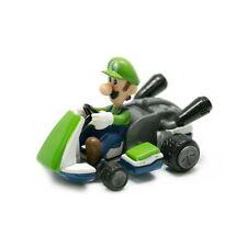 Genuine Super Mario Bros Luigi Tire hacia atrás Racer Kart Coche Niños Juguetes Nuevos Raro