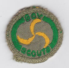 1960's UNITED KINGDOM / BRITISH SCOUTS - BOY SCOUT MISSIONER Proficiency Badge