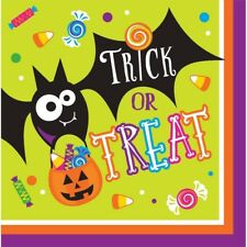 Gone Batty 16 Ct Luncheon Napkins Halloween Party Bat Candy