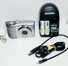 Canon PowerShot A1100 IS Digital Camera 12.1MP 4X Optical Zoom bundle