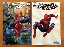 Amazing Spiderman 1 A + B Cheung Variant Set 1st App New Villain Marvel 2018 NM+