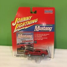 LOT OF 2 JOHNNY LIGHTNING MUSTANG CARS 1971 MUSTANG MACH 1 & 1969 SHELBY GT500