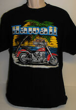 Vintage 1980s Harley Davidson T Shirt Dealer Hawaii Pacific Motorcycle