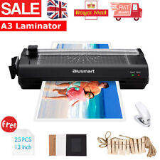 More details for a3/a4 laminator machine hot / coldroller & laminating pouches & paper trimmer