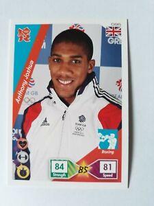 Panini Adrenalyn XL London Olympics 2012 Anthony Joshua Good Condition #96